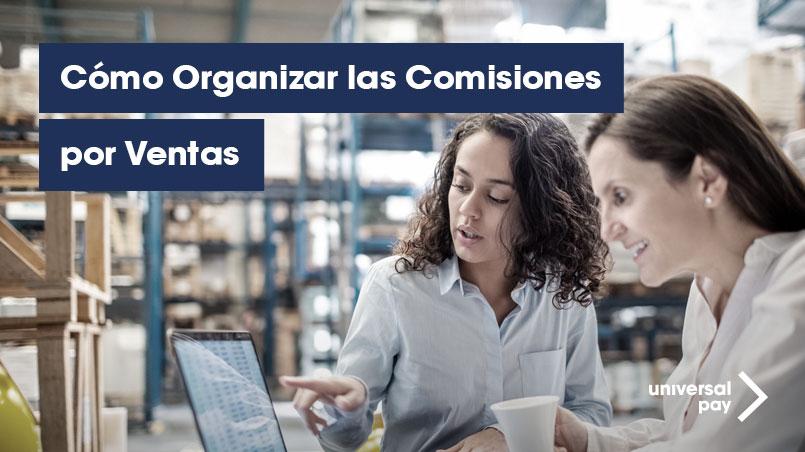 Organizar comisiones por venta